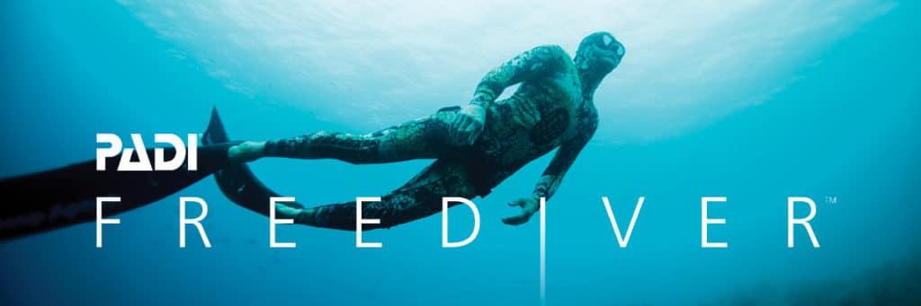 PADI Freediver Banner